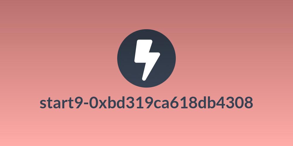 start9-0xbd319ca618db4308