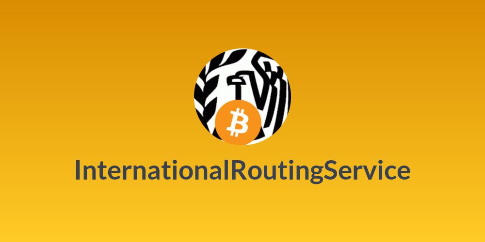 InternationalRoutingService