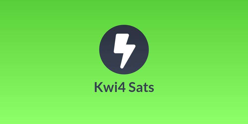 Kwi4 Sats