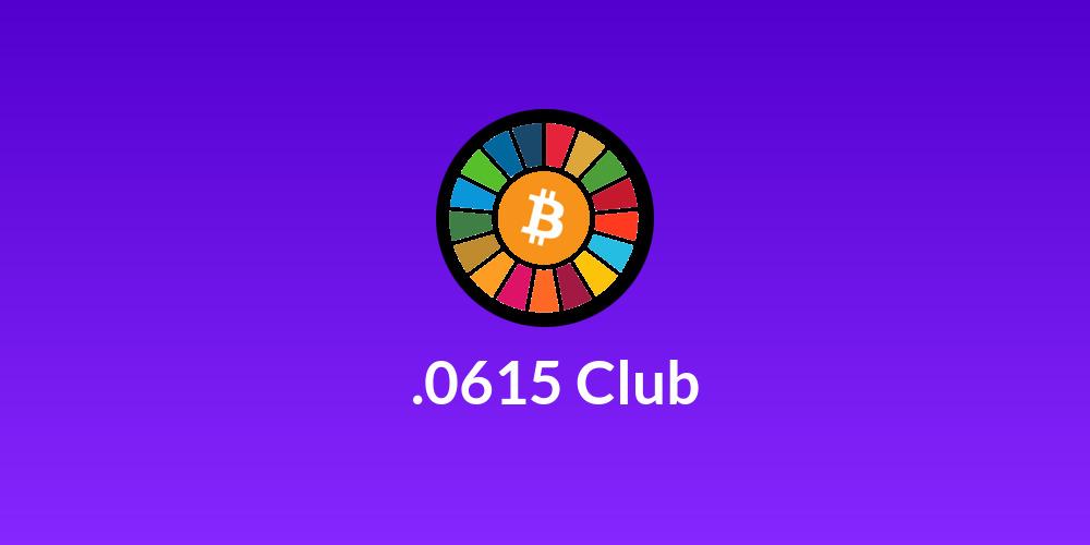 ⚡️.0615 Club ⚡